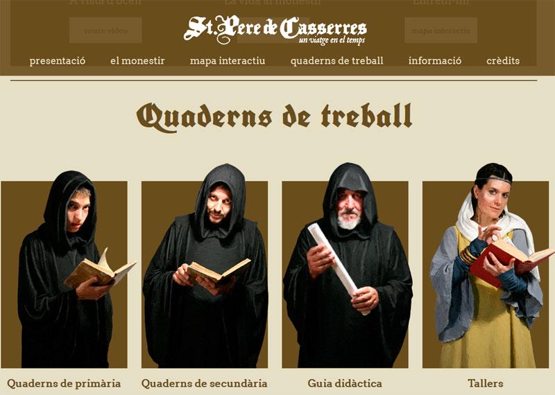 porpostes educatives monestri de Casserres
