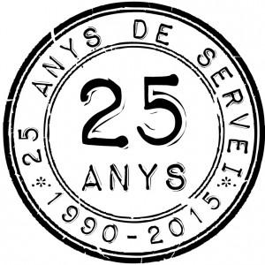 Logo 25 anys 7 i TRIA