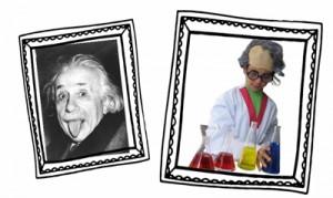 Científics al menjador