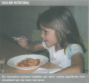 Menjador escolar i equilibri nutricional