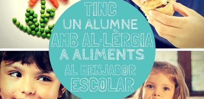 Alumnes amb al·lèrgies al menjador