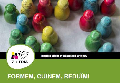 Revista del menjador del 2n trimestre 2018-2019